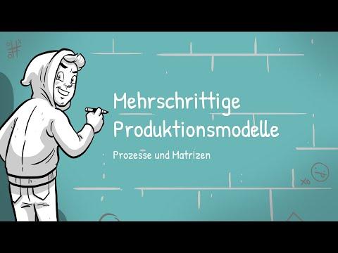 Cover: Prozesse und Matrizen - Mehrschrittige Produktionsmodelle - YouTube