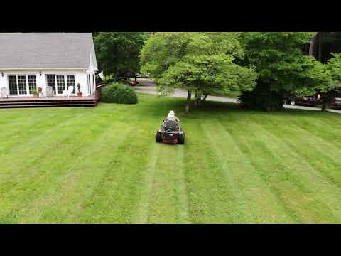 Mowing, from a whole new perspective