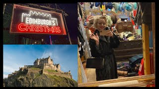 Vintage Shopping In SCOTLAND! | Edinburgh | Vintage Shopping
