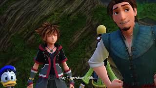 Kingdom Hearts 3 - Cutscenes - Kingdom of Corona - English Dub