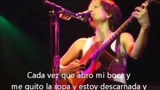 Ani DiFranco Life boat subtítulos en Español