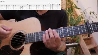 Sajjan Raj Vaidya | Chitthi Bhitra | Guitar Lesson | with tabs