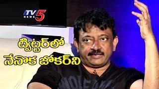 I Am The Joker On The Twitter Says RGV  Telugu News  TV5 News