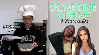 YouTuber Come Dine with Me ft. Olivia Neill & Flossie (and jane)
