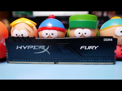 ОБЗОР И РАЗГОН НОВОЙ ОПЕРАТИВНОЙ ПАМЯТИ HyperX Fury DDR4 HX430C15FB3K2/16