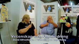 David Alfvenhierta – VoF på Bokmässan 2019