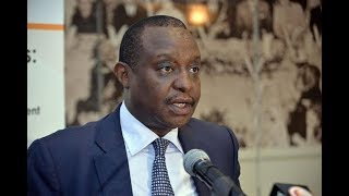 D-Day for CS Rotich as he answers  dams scandal questions, reported at the DCI around 5:40 am