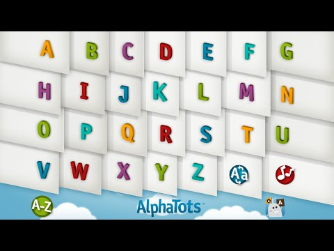 Video of AlphaTots Alphabet