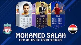 MOHAMED SALAH | FIFA ULTIMATE TEAM HISTORY | FIFA 14  - FIFA 18