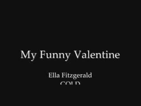 ella fitzgerald my funny valentine chords