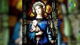 Ngày 21.01: kính thánh Anne, trinh nữ tử đạo