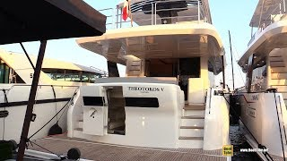 2019 Serena Yachts 64 - Deck and Interior Walkaround - 2018 Cannes Yachting Festival