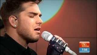 2015-10-21 Adam Lambert performing Another Lonely Night on Sunrise [Australia]