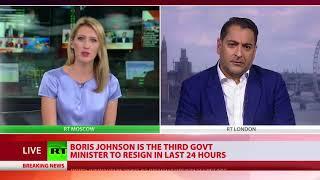 Boris Johnson resigns as Britain's Foreign Secretary