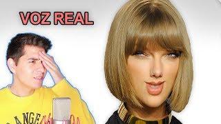 Escuchando la VOZ REAL de Taylor Swift sin Autotune | Vargott