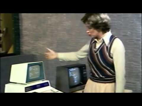 Tandy & PET Computer on Pebble Mill 1977