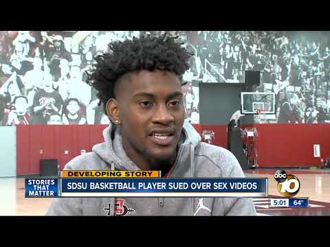 SDSU basketball player sued for sharing sex videos