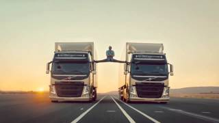 Volvo Trucks - The Epic Split feat. Fegelein