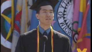 George Dong's University of Michigan Commencement Speech