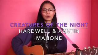 """Creatures Of The Night"" by Hardwell & Austin Mahone cover + guitar chords IN DESCRIPTION"