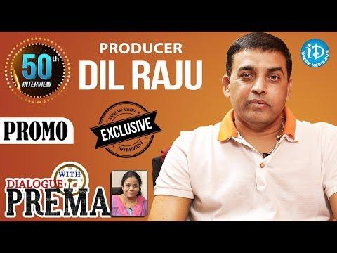 Producer Dil Raju Exclusive Interview PROMO    Dialogue With Prema    CelebrationOfLife #50    #DJ