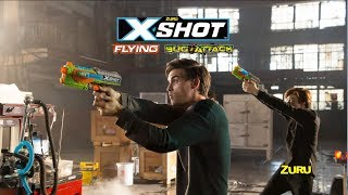 X-Shot Flying Bug Attack | NEW Blasters from ZURU X-Shot | Can You Hit the Flying Mystery Targets?