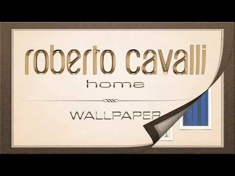 Carta da Parati firmata Roberto  Cavalli