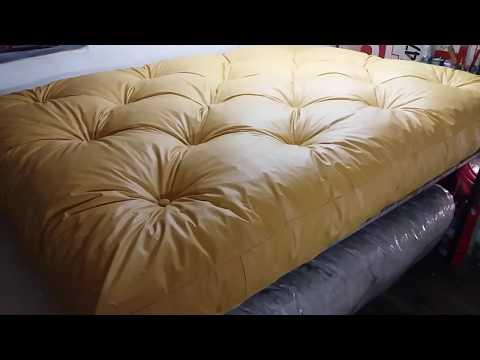 Colchon para futon relleno copos