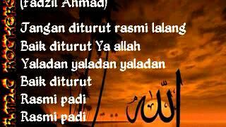 Fadzil Ahmad & Sharifah Aini - Yaladan (With Lirik)