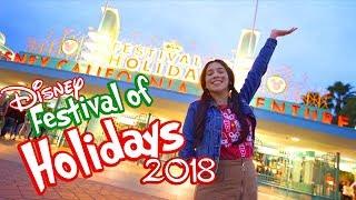 Disneys Festival Of Holidays Is Bringing Magical Eats To Disney California Adventure 2018