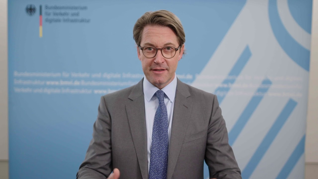 Die Ziele von 5G sind flächendeckender Mobilfunk und schnelles Internet für ganz Deutschland. Wie der bundesweite Ausbau gewährleistet werden soll, erklärt Andreas Scheuer, Bundesminister für Verkehr und digitale Infrastruktur.