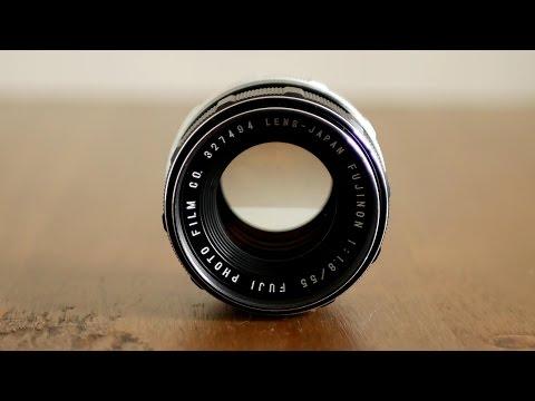 Fuji 55mm f/1.8 lens review (M42 Screw Mount)
