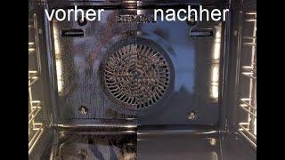 SIEMENS/BOSCH Backofen Pyrolyse, Selbstreinigung, im Detail.
