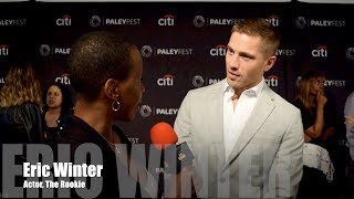 The Rookie : Eric Winter at PaleyFest 2018