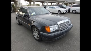 The best Mercedes Benz E500s and 500E cars can be found in Japan. The Japanese love these models.