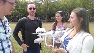 Drones in Downtown Charleston!?!?!