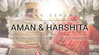 AMAN & HARSHITA Wedding Teaser (HD) By RnPictures