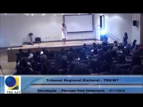 Cerimônia de diplomação do programa Voto Consciente - 27/11/2019
