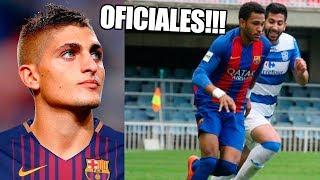 FICHAJES YA CONFIRMADOS Y RUMORES DEL FC BARCELONA