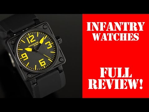 Infantry Quartz Watches – Full Review – I Review Crap!