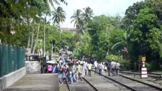 preview picture of video 'Sri Lanka,ශ්රී ලංකා,Ceylon,Ambalangoda,Street life (02)'