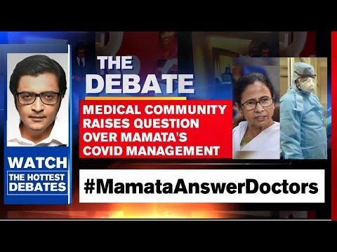 Arnab Goswami Debates: Medical Community Raises Question Over Mamata's COVID Management