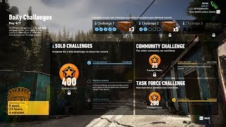 Ghost Recon Wildlands - Week 8 Day 4/7 Solo Challenge 1