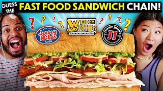Guess That Fast Food Sandwich Chains! (Subway, Quiznos, Jersey Mike's, Jimmy Johns)