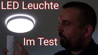 Shilook LED Deckenleuchte| Dimmbar mit Fernbedienung| 24W, 3000-6500K, Rund 40cm, Weiß| Review DE