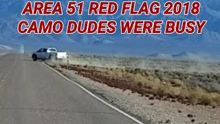 AREA 51 BORDERS, RED FLAG 2018