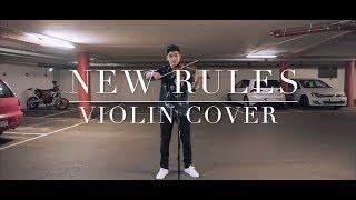 New Rules   Dua Lipa (Violin Cover)