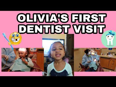 OLIVIA'S FIRST EVER DENTIST VISIT! 😬