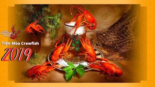 Tiền Mùa Crawfish 2019 (đặc sản của Louisiana, Mỹ)