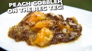 Peach Cobbler on the REC TEC